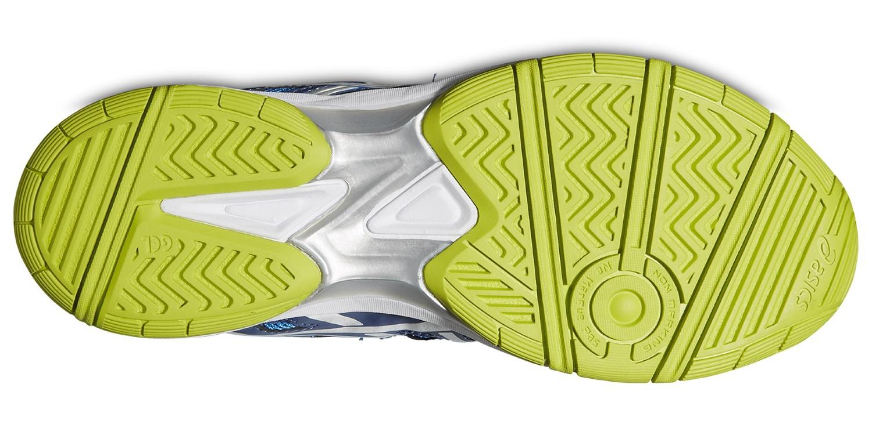 Детские волейбольные кроссовки Asics Gel-Beyond 4 GS (C453N 4130) синие фото