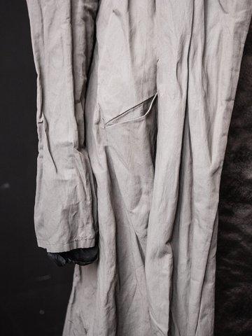 Плащ-рубашка с карманами