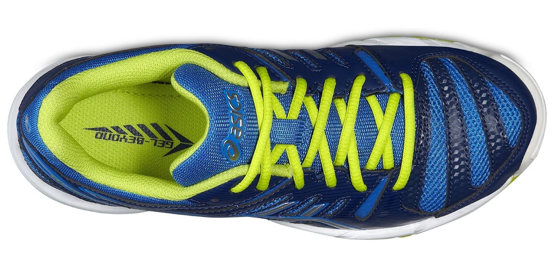 Детские волейбольные кроссовки Асикс Gel-Beyond 4 GS (C453N 4130) синие