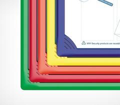 Рамка для перекидной системы INFOFRAME A4, зеленый