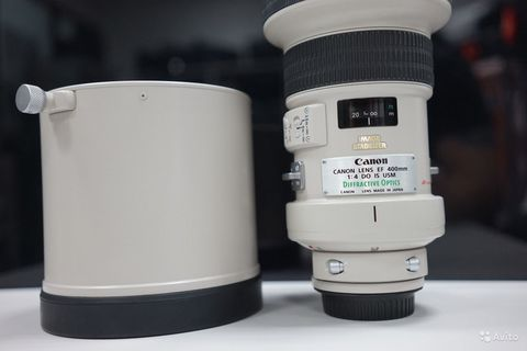 Canon 400mm f/4 DO IS USM в идеале