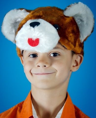 Карнавальная шапочка Медвежонок