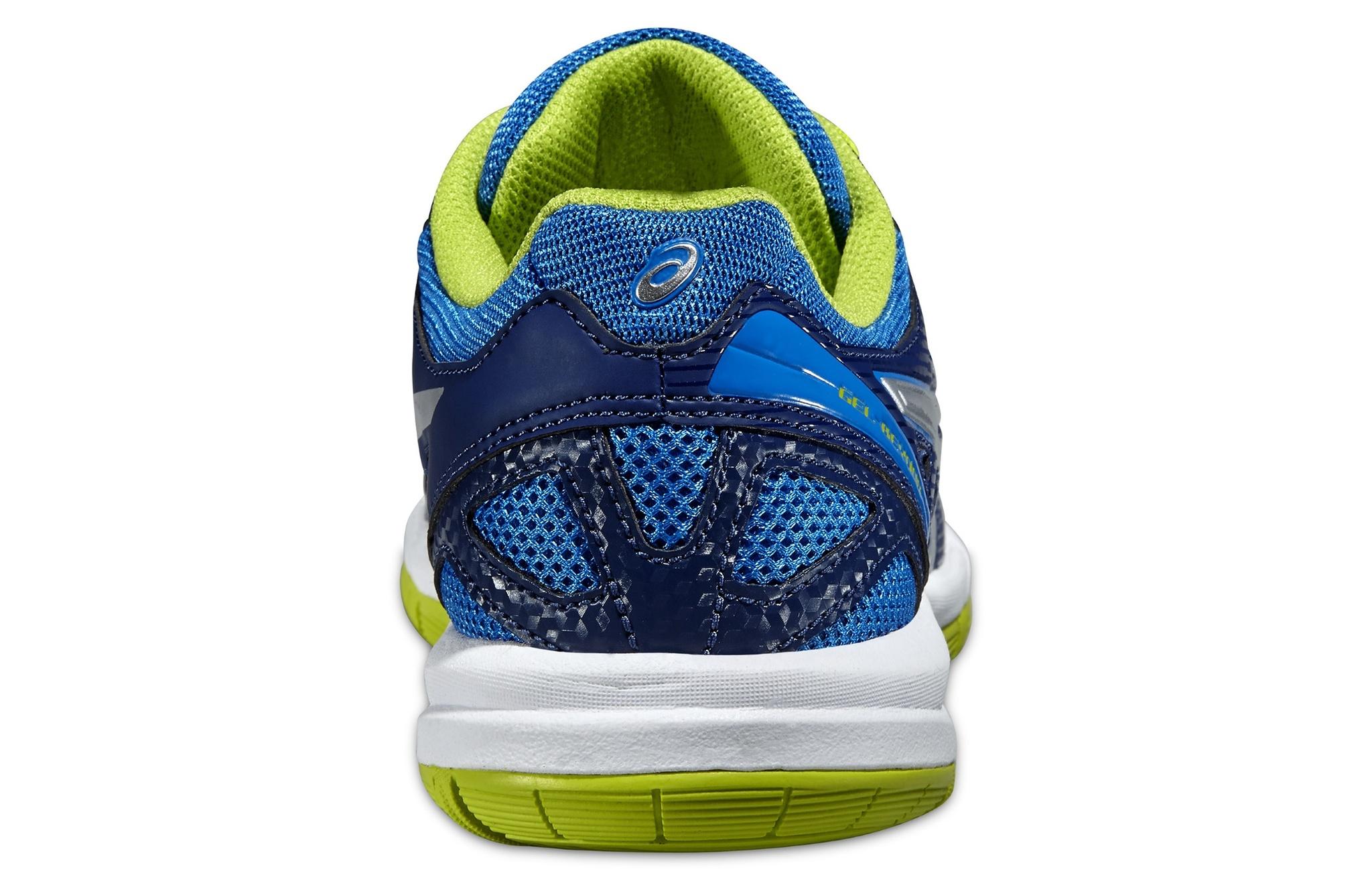 Детские кроссовки для волейбола Asics Gel-Beyond 4 GS (C453N 4130) синие фото