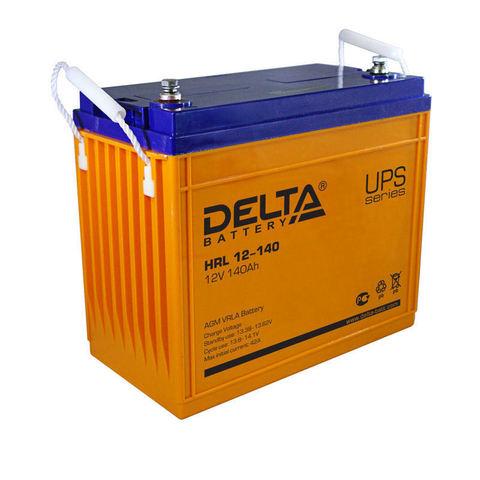 Герметичный свинцово-кислотный аккумулятор Delta HRL