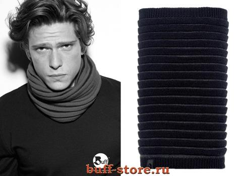 Модный шарф-труба Buff Varsity Dunes Black