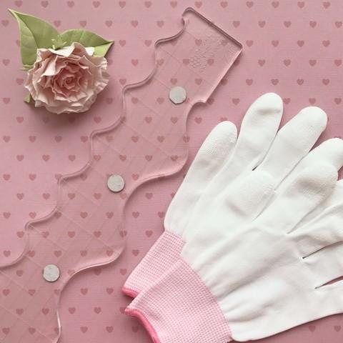 Перчатки для стежки.  Размер S.