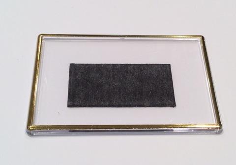 Акриловый магнит 105х70 мм с позолотой