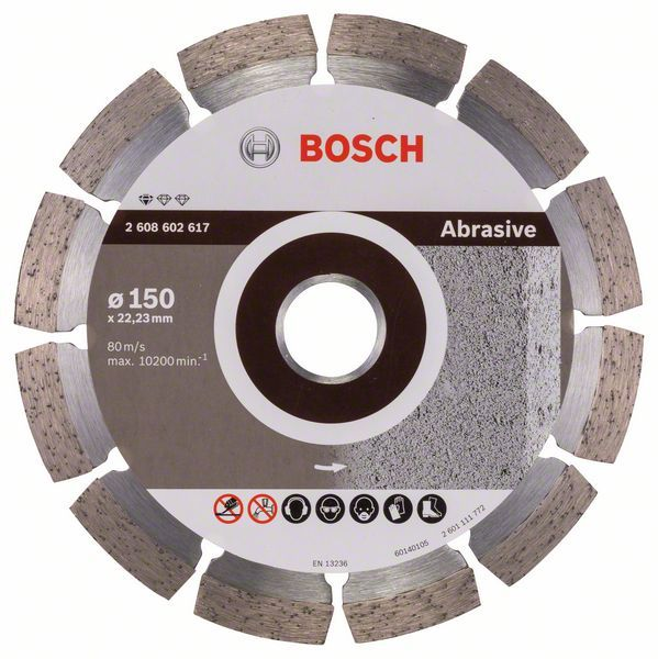 Алмазный диск Standart for Abrasive 150-22,23 Bosch 2608602617