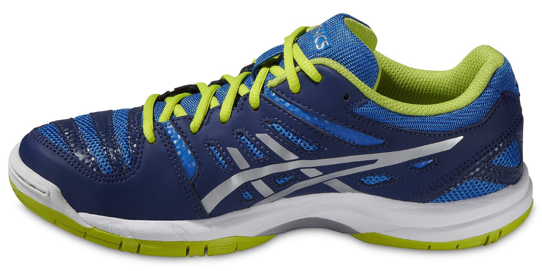 Детские кроссовки для волейбола Асикс Gel-Beyond 4 GS (C453N 4130) синие фото
