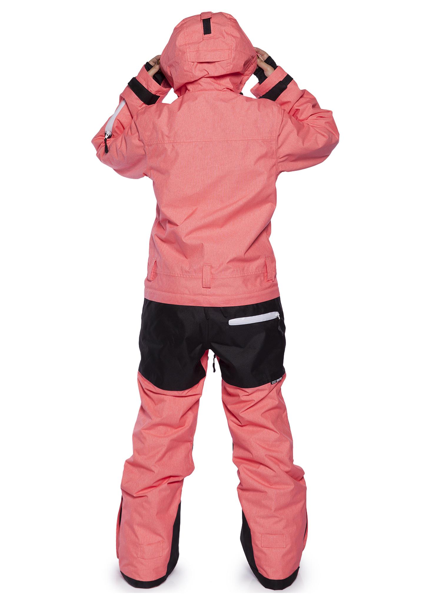 Женский утепленный сноубордический комбинезон Cool Zone Kite 31К17М оранжевый