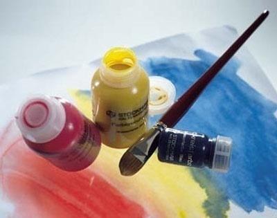 Краска акварельная ультрамарин, 250мл (Stockmar)