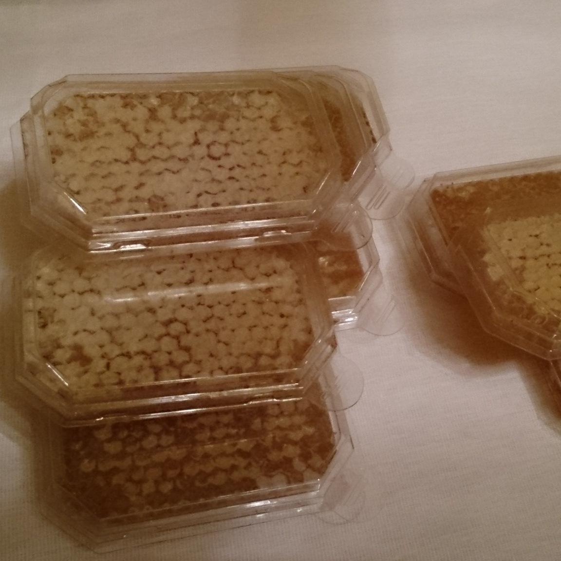 Мини рамочка с сотовым медом