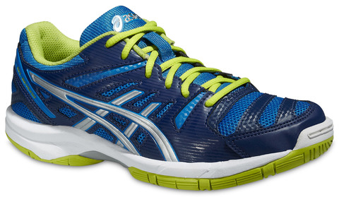 Детские волейбольные кроссовки Asics Gel-Beyond 4 GS синие