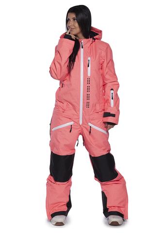 Женский утепленный сноубордический комбинезон Cool Zone Kite 31К17М оранжевый фото