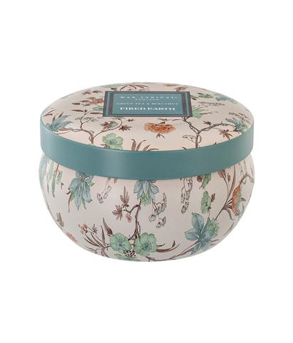 Свеча ароматическая в алюминиевой банке Зеленый чай и бергамот, Wax Lyrical