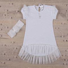 Рубашка для крещения девочке Янголятко