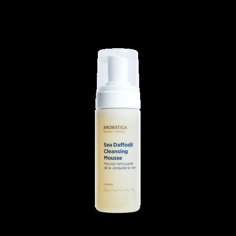 Очищающий мусс-пенка с панкрацием для обезвоженной и сухой кожи, 150 мл / Aromatica Sea Daffodil Cleansing Mousse