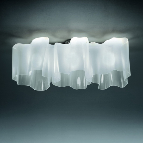 Chandelier Logico Soffitto 3 In Linea by Artemide