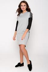 Оригинальное платье в стиле Casual. Повседневный стиль одежды с акцентом на удобство м практичность.
