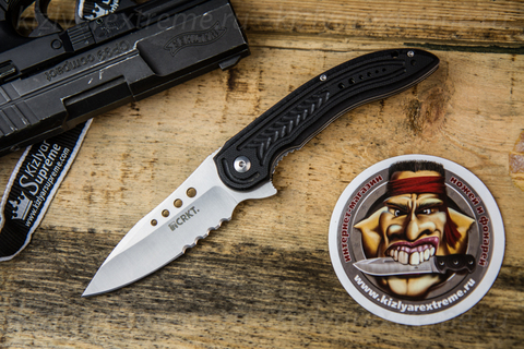 Складной нож Carajas by Flavio Ikoma 5341 с серрейтором