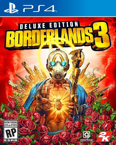 Sony PS4 Borderlands 3. Deluxe Edition (русские субтитры)