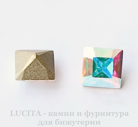 4428 Ювелирные стразы Сваровски Crystal AB (8х8 мм)