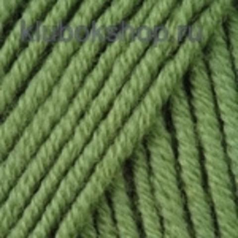 YarnArt Merino De Luxe (50) 98 Зеленый, пряжа, фото