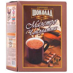 """Горячий шоколад""""Маэстро Чоколатти"""" молочный 10*25г"""