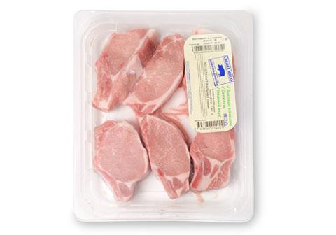 Котлета натуральная свиная охлажденная~1.3кг