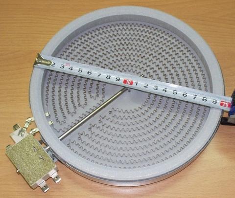 Конфорка (hi-light) 1800W 180 мм Electrolux 10.58111.044