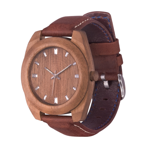 Часы из дерева AA Wooden Watches Классик Орех