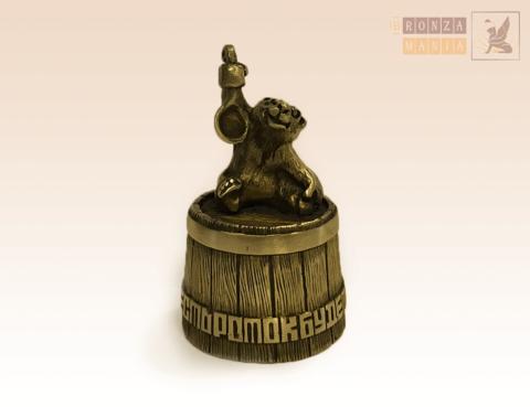 колокольчик Медведь с медом (Если есть роток будет и кусок)