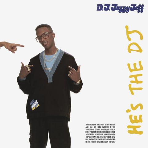 DJ Jazzy Jeff & The Fresh Prince / He's The Dj I'm The Rapper (2LP)