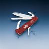 Нож Victorinox Hunter, 111 мм, 12 функций, красный