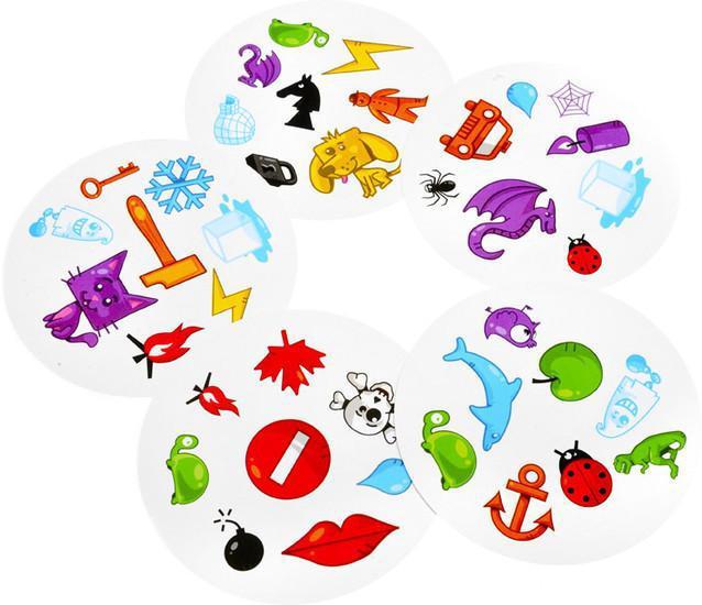 Доббль (Dobble или Spot It!) настольная игра. Доставка бесплатно!