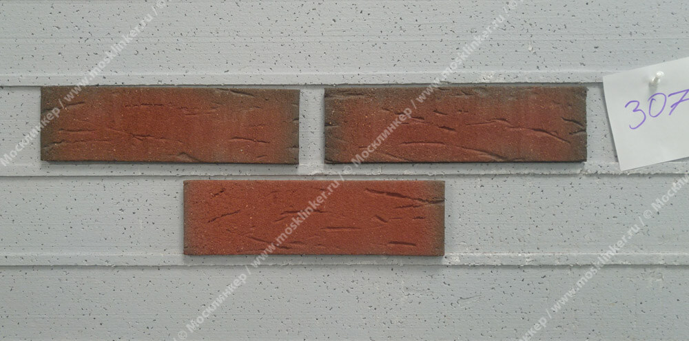 Feldhaus Klinker - R307NF9, Classic Ardor Rustico, 240x9x71 - Клинкерная плитка для фасада и внутренней отделки