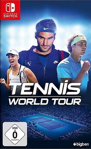 Nintendo Switch Tennis World Tour (русские субтитры)