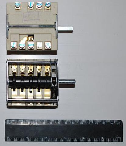 Переключатель мощности для профессиональных плит EGO Prof. 7poz. 43.27232.000 - 481227328239