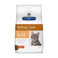 Hill's Prescription Diet k/d Kidney Care сухой диетический корм для кошек при профилактике заболеваний почек, с курицей