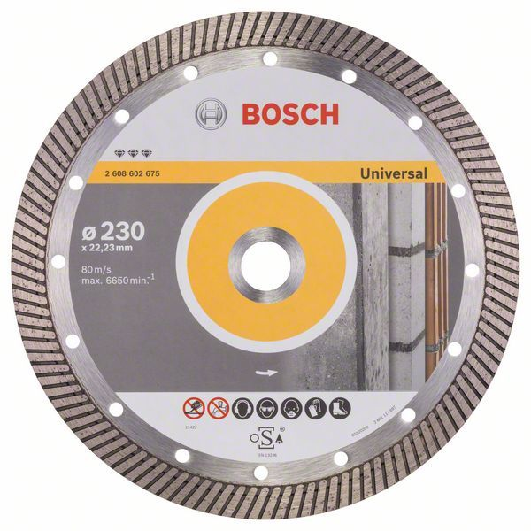 Алмазный диск Best for Universal Turbo 230-22,23 Bosch 2608602675