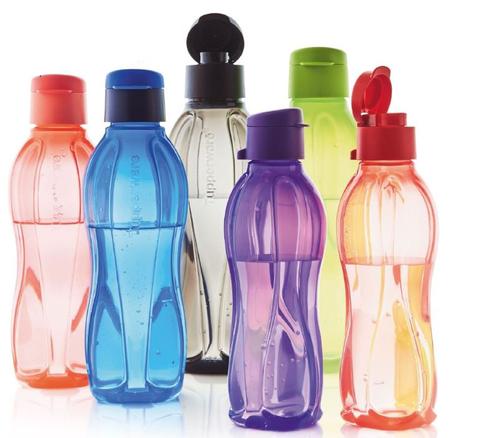 Бутылки эко с клапаном таппервер