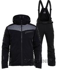 Элитный горнолыжный костюм 8848 Altitude Dimon Jacket Venture Black мужской