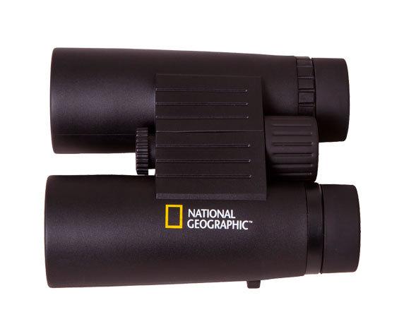 Эргономичный корпус National Geographic 10x 42 WP с нескользящим покрытием
