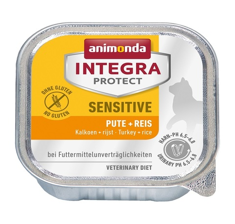 Animonda Integra Protect Cat (ламистер) Sensitive Turkey & Rice