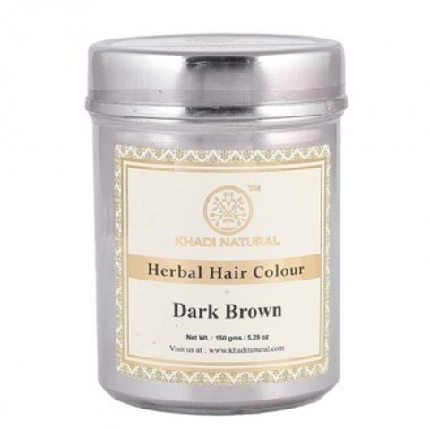 Хна для волос темно-коричневая Khadi Natural, 150 гр