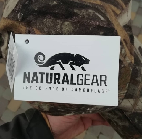 ХБ кепка Natural gear