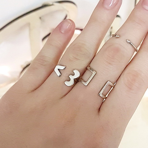 Heart Ring, Sterling Silver