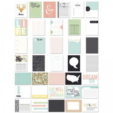 Набор журнальных карточек Office Suite by Fancy Pants 36 шт.