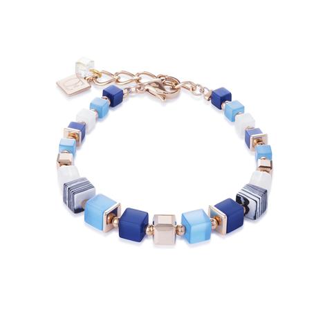 Браслет Coeur de Lion 4963/30-0706 цвет синий, голубой, белый