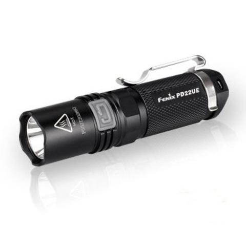 Купить Яркий компактный фонарь Fenix PD22 Ultimate Edition, 510 люмен (модель 34024) по доступной цене